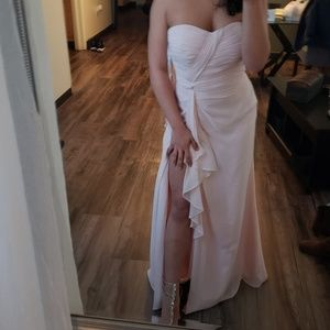 Bill Levkoff Dresses - Blush pink Bridesmaid dress
